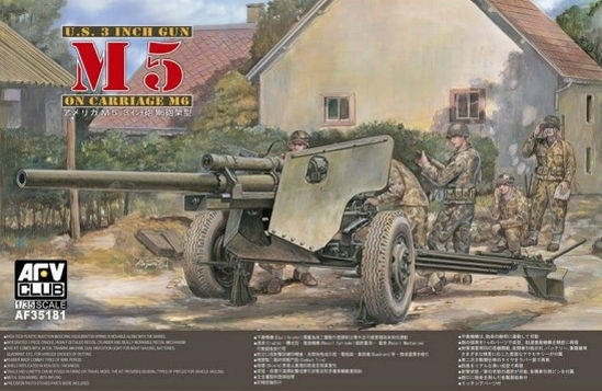 M5 105mm Howitzer on M6 CarriageAFV35181