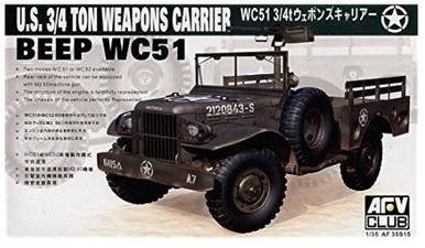 US WC-51 3/4T Weapons Carrier -AFV35S15