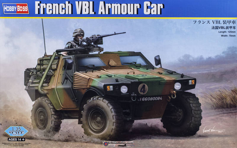 French VBL Armoured Car HB83876