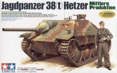 German Jagdpanzer Hetzer, Mid Production	TAM35285