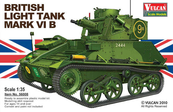 British Light Tank Mark VI B 	VUL56008