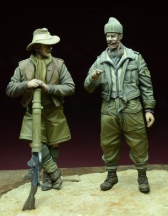 LRDG Soldiers North Africa D-DAY 35061