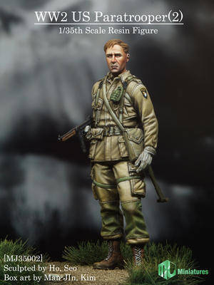 US Paratrooper #2	MJ MINI35002