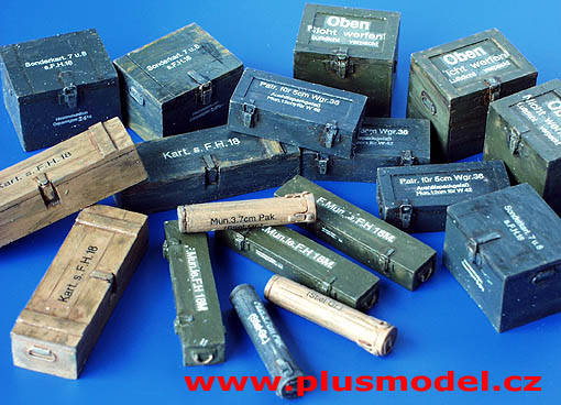 Ammunition Containers Germany 	PLUS027