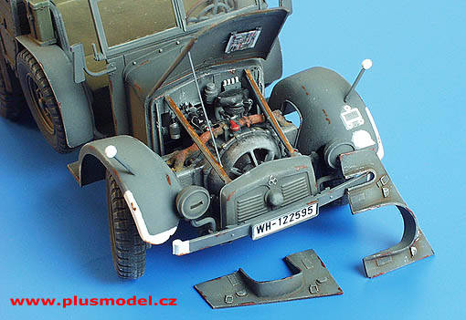 Krupp Protze Engine Set	PLUS134
