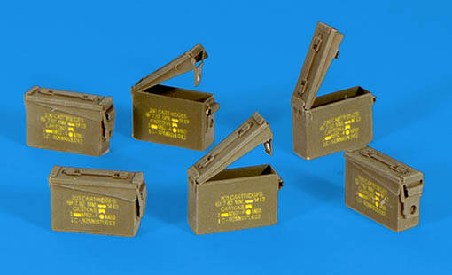 US Ammunition Boxes 7,62mm	PLUS317