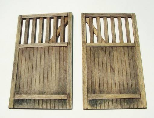 Wooden Gate -Straight	PLUS432