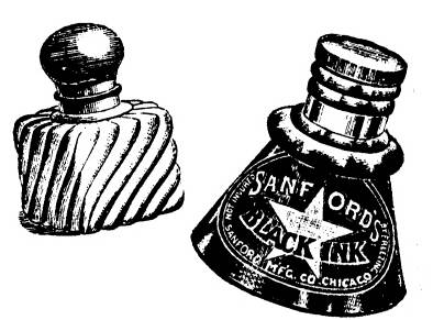 NS F3709 Two ink bottles