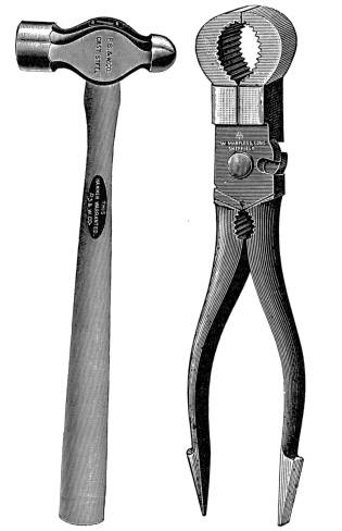 SW G07019/57 Hammer and pincers