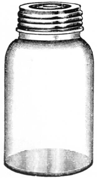 SW L13031/158 Glass jar with screwlid