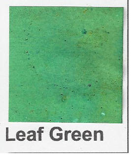 Brusho Leaf green