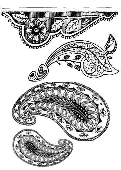SW M07092/68 Indian ornaments