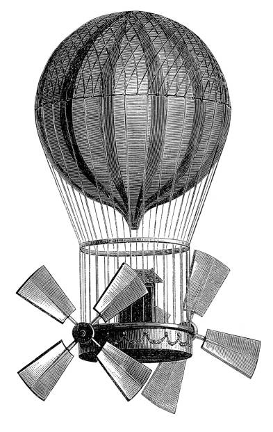 SW N12048/129 Hot air balloon with double rotor