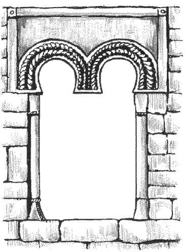 CP P431/55 Two arches window