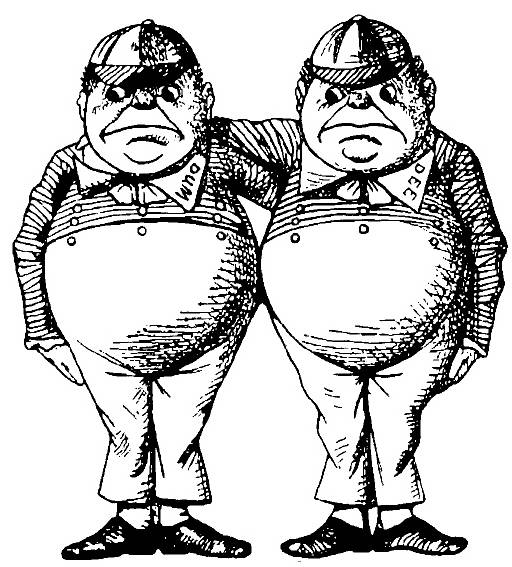 NS P6106 Tweedledee and Tweedledum