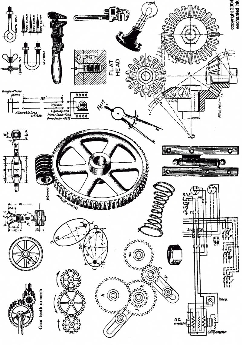 EIPP77 Plate 77 Nuts and bolts