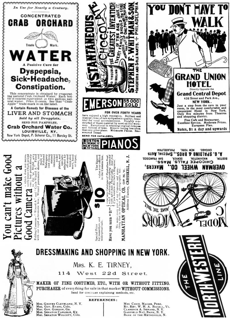 PLATESW143 Plate 143 Vintage advertisements