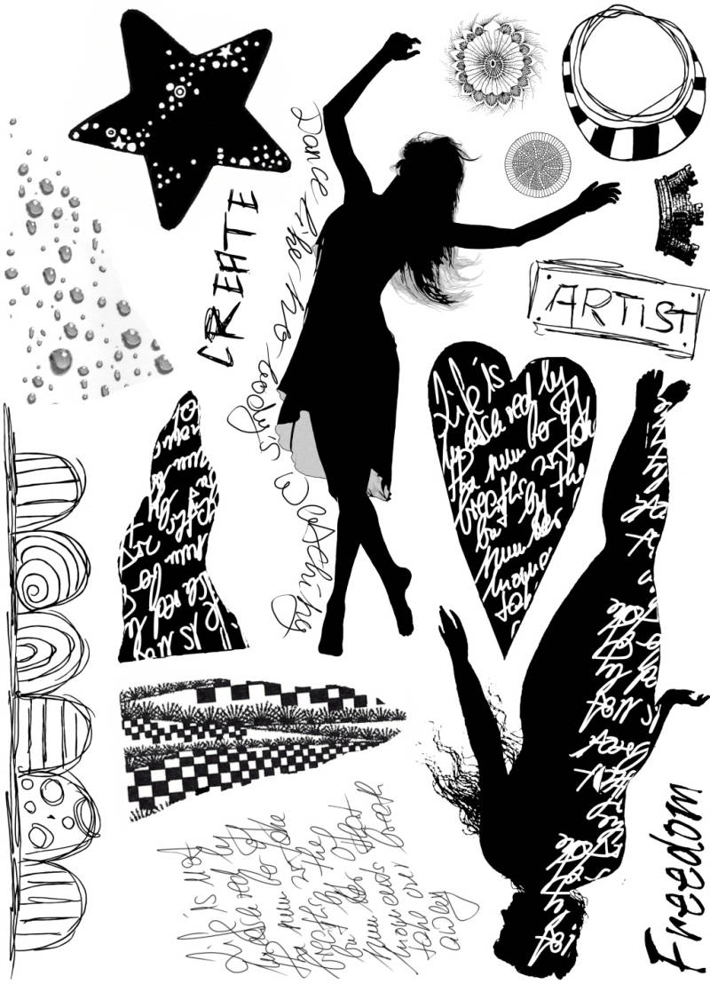 PLATESW148 Plate 148 Silhouettes 1