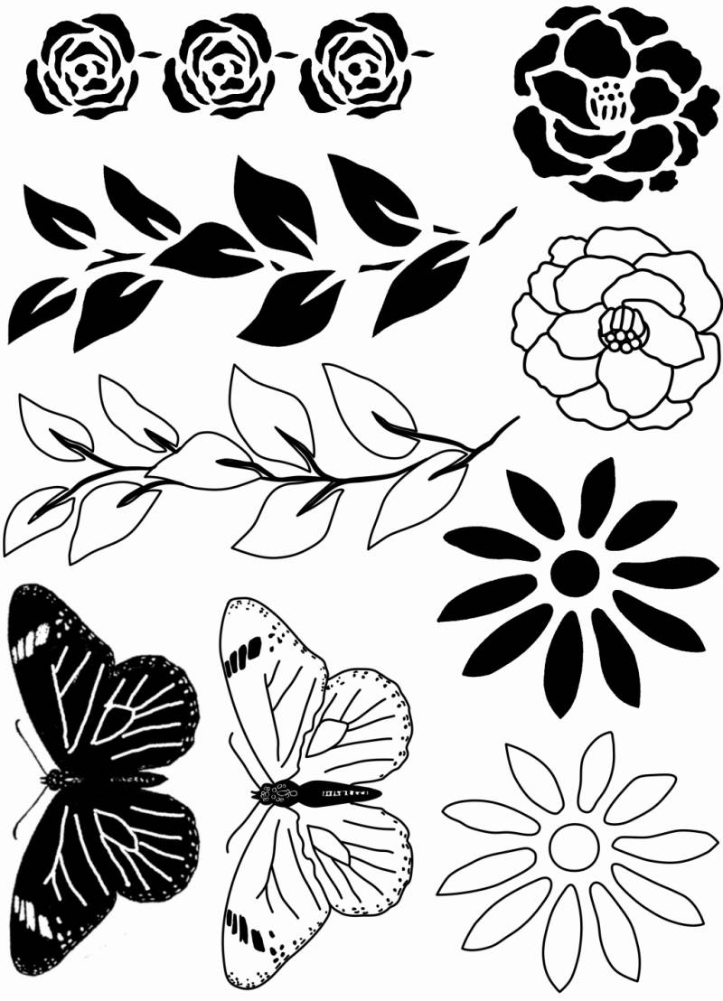 PLATESW156 Plate 156 Naturesilhouettes 2