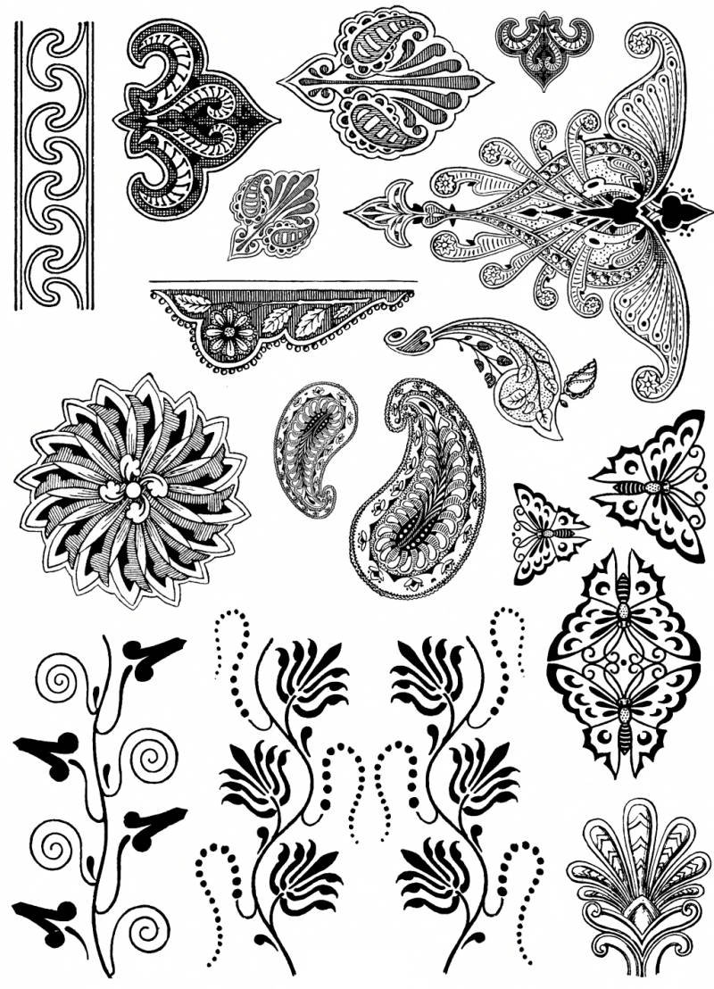 PLATESW068 Plate 068 Historical ornaments