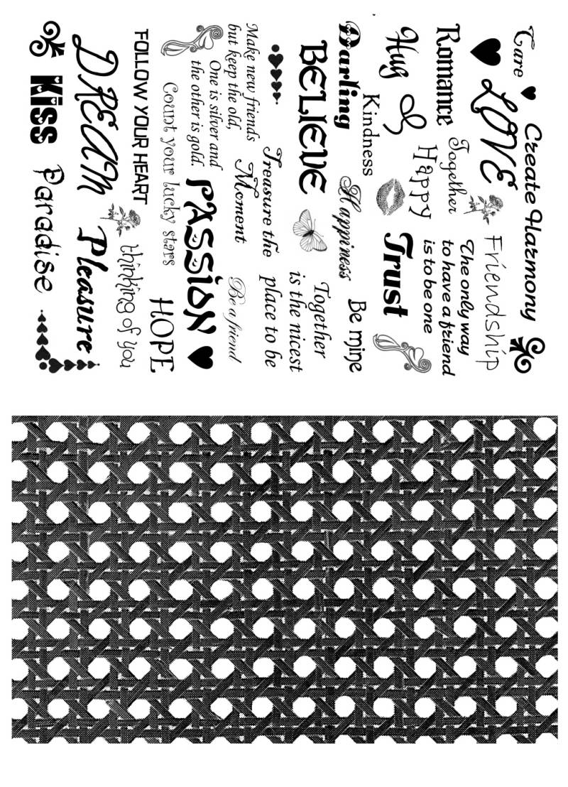 PLATESW083 Plate 083 Backgroundstamps 2