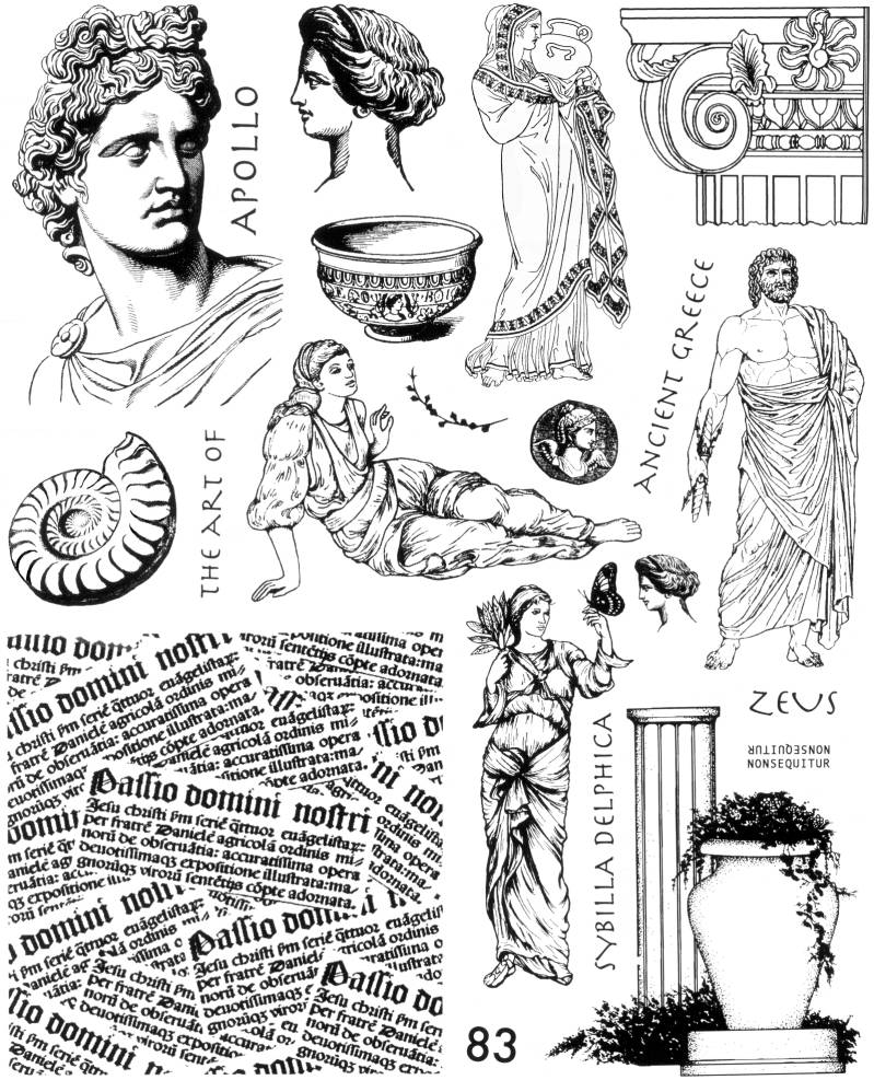 NSPL083 Plate 083 The art of ancient Greece