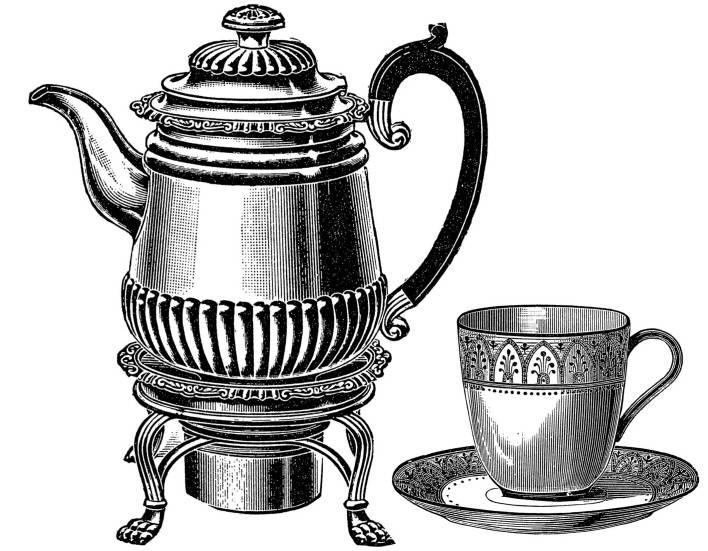SW Q07077/66 Coffee pot and cup