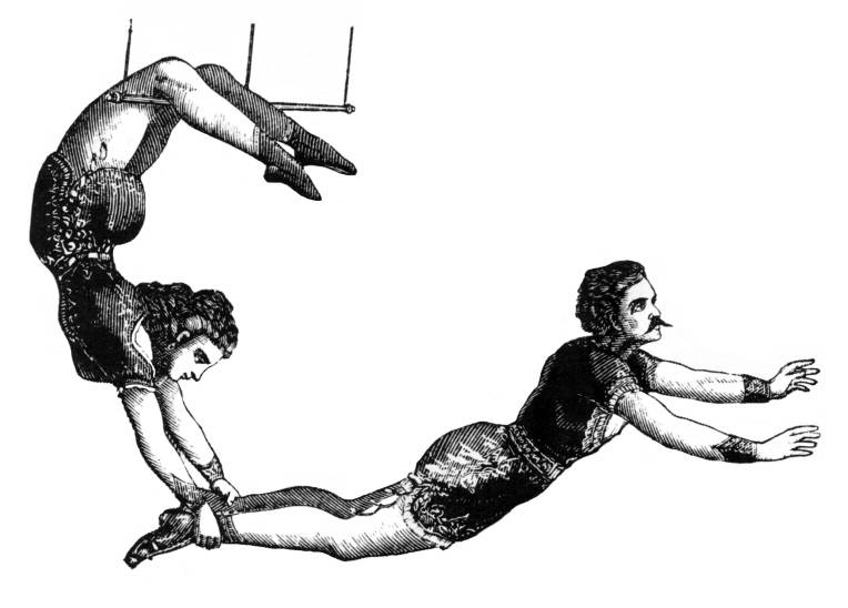 SW Q12038/128 Trapeze workers