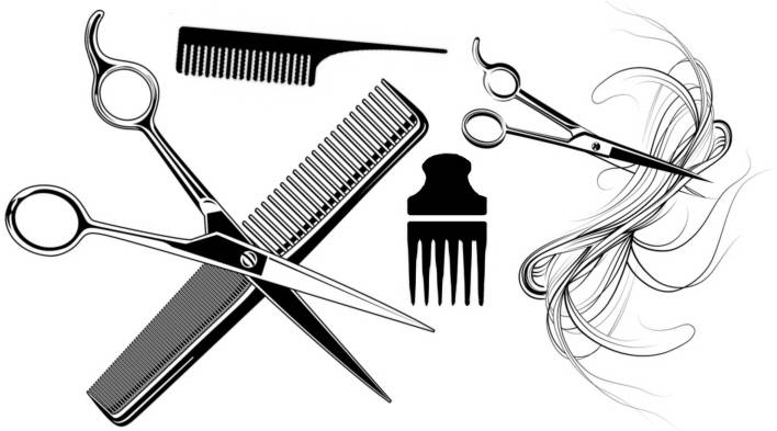 SW Q17009/195 Hairdressing attributes
