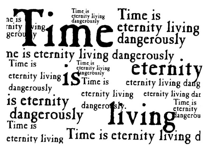 NS Q6901 Time is eternity lg