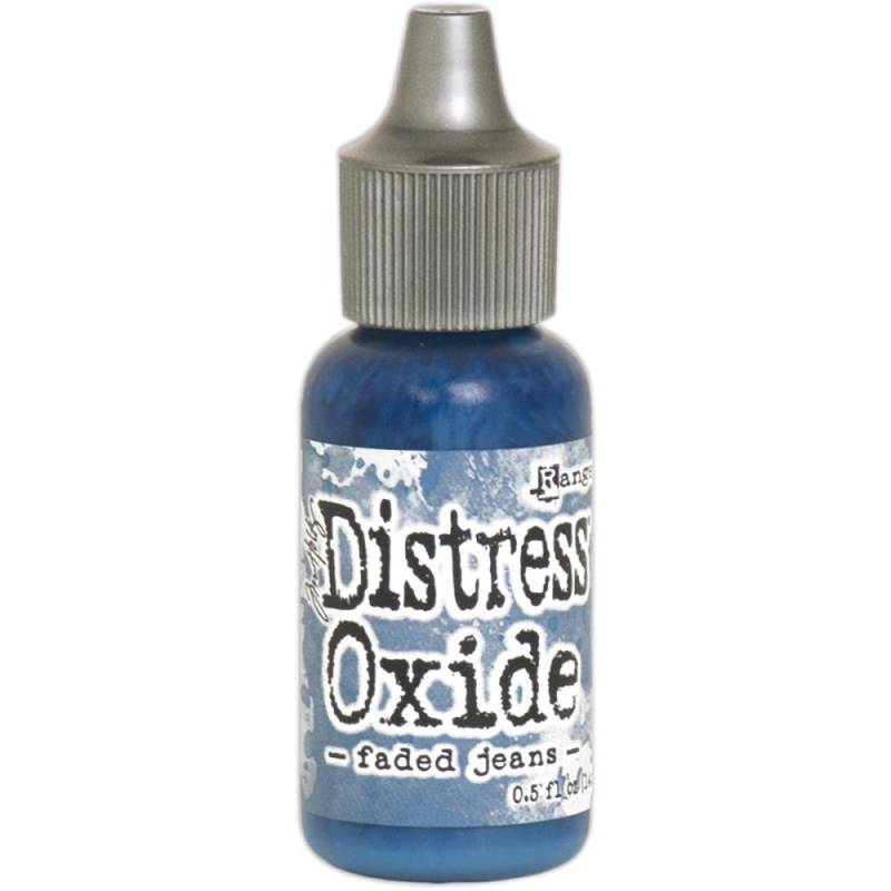 Distress Oxide Faded Jeans refill