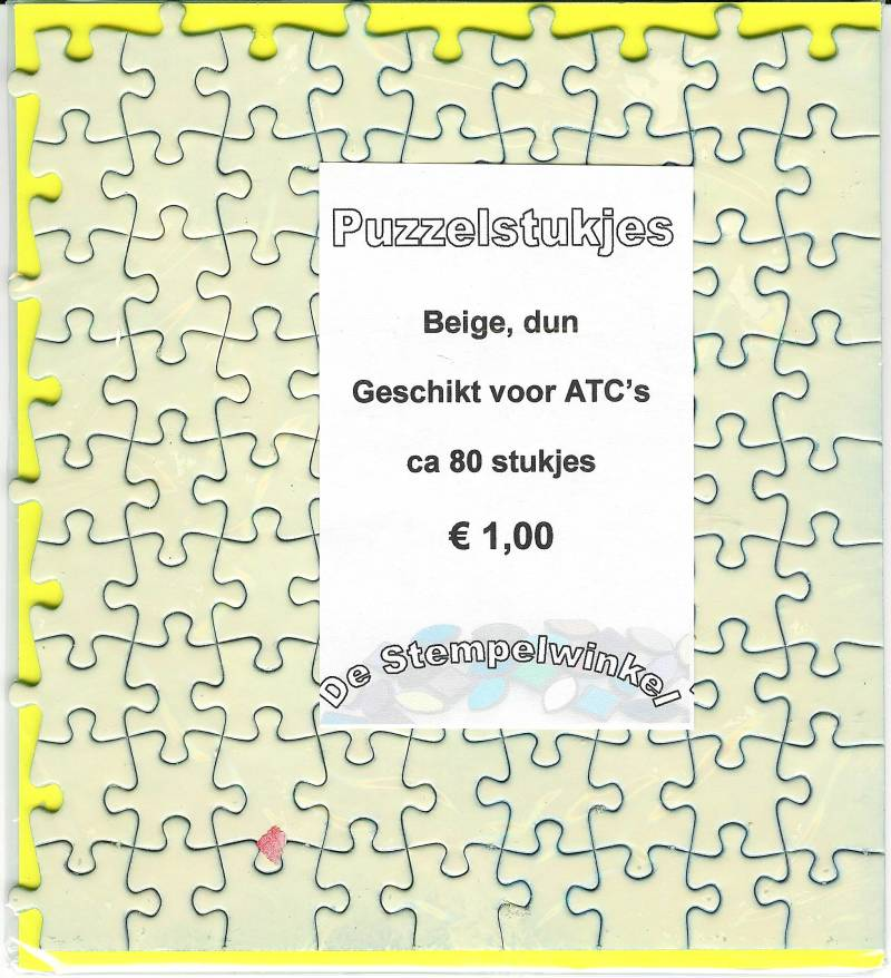 Stampable puzzle