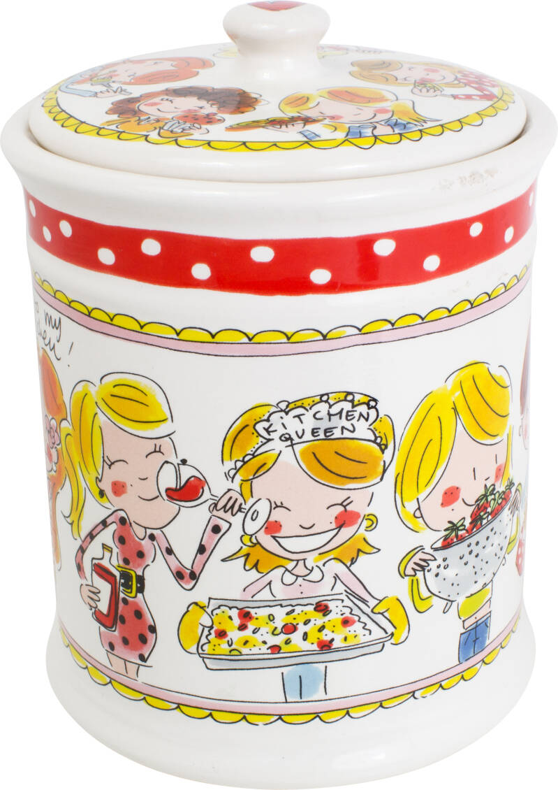 Blond Amsterdam STORAGE JAR RED 200040