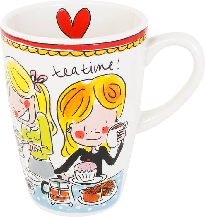 Blond Amsterdam MUG XL RED TEXT  200049