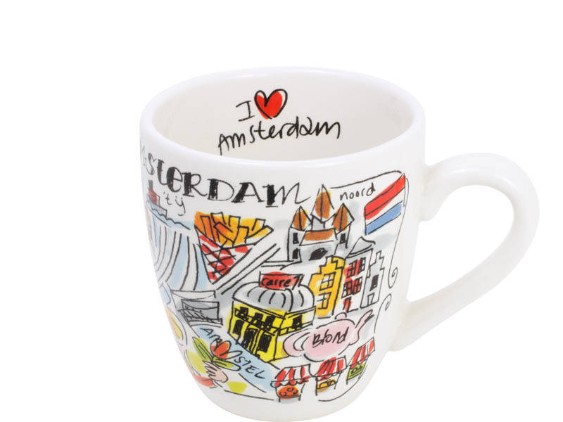 Blond Amsterdam CITY AMSTERDAM MINI MUG  200305