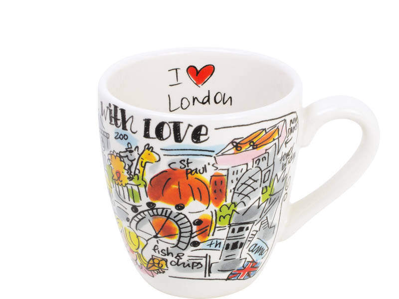 Blond Amsterdam CITY LONDON MINI MUG  200306