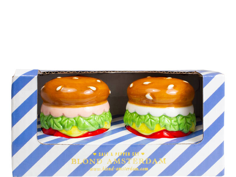 Blond Amsterdam SNACK SALT AND PEPPER SET BURGER