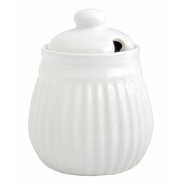 Ib Laursen Sugar Pot - Mynte Pure White 2059-11
