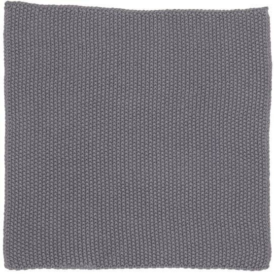 IB-Laursen Dish cloth Mynte dark grey knitted  6351-16
