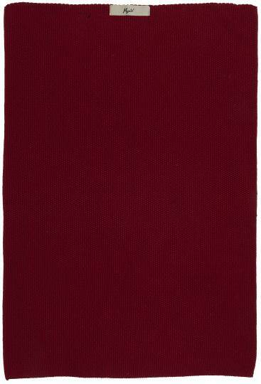 IB-Laursen Towel Mynte rhododendron knitted  6352-57