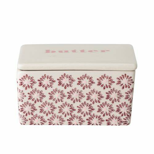 Bloomingville Maya Butter Box, Multi-color, Stoneware  82047383