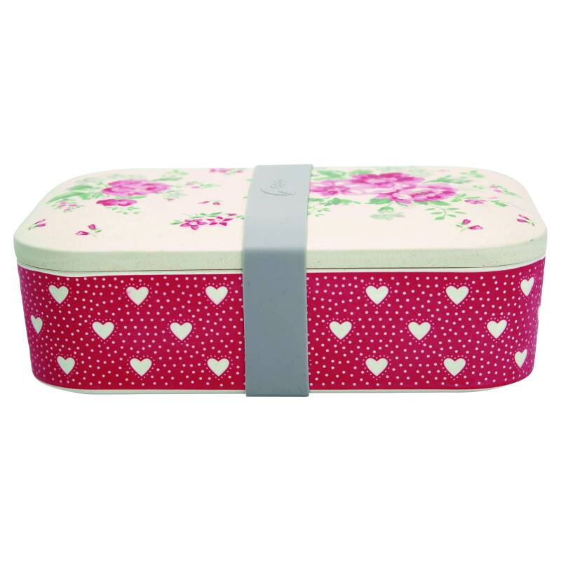 GreenGate Bamboo Lunch Box Elouise White
