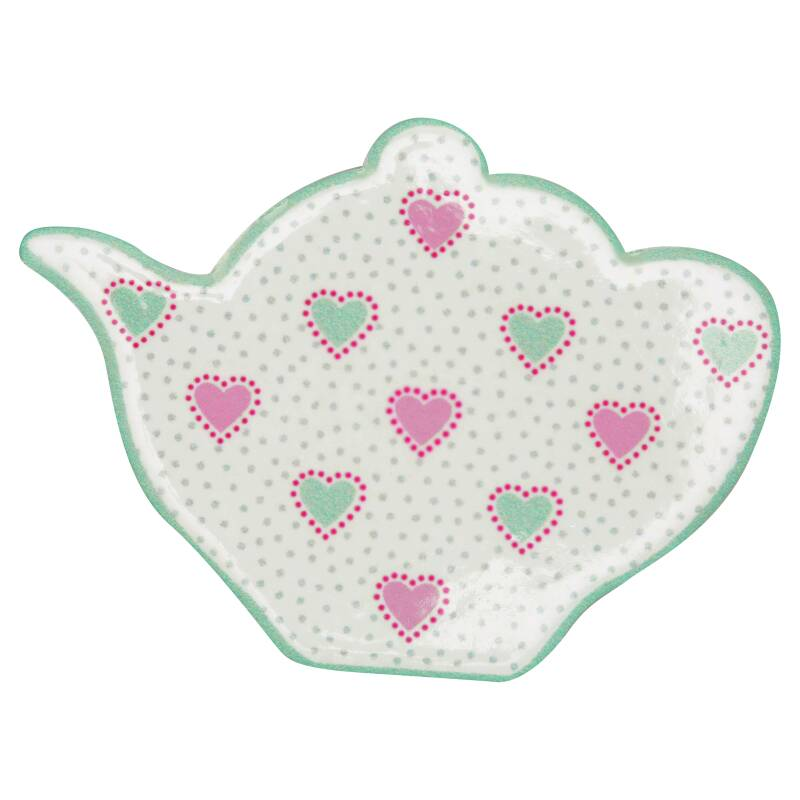 GreenGate Magnet Penny White Set of 4