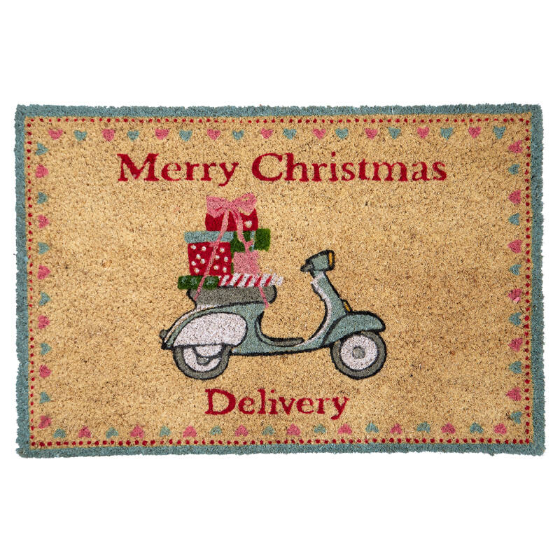 GreenGate Doormat Scooter White