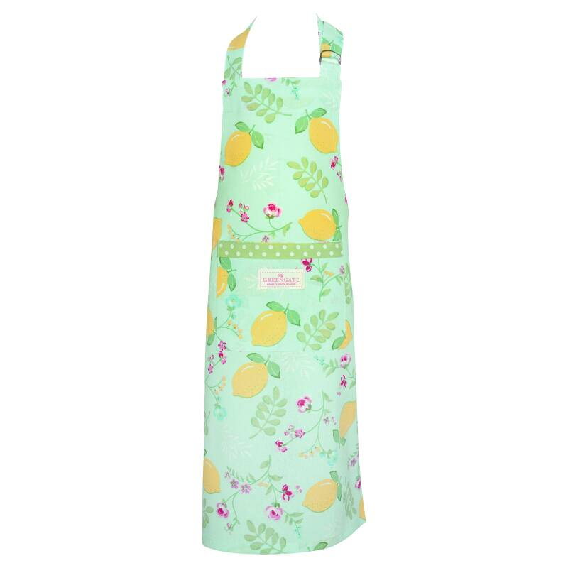 GreenGate Apron Limona Pale Blue