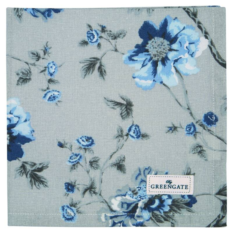 GreenGate Cloth Napkin Charlotte Grey