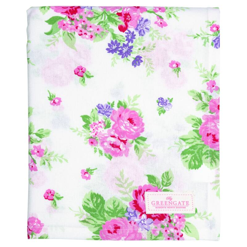 GreenGate Teatowel Rose White