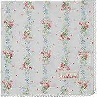 GreenGate Cloth Napkin with Lace Sinja White - Limited Edition