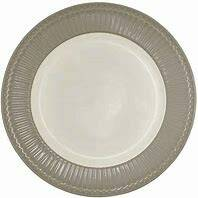 GreenGate Dinner Plate - Alice Warm Grey 27 cm