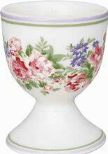 GreenGate Egg Cup Rose White